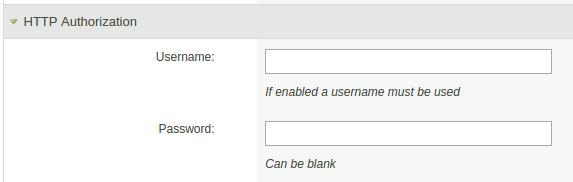 HTTP Authorization