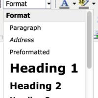 Text Format