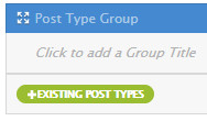 Add Posts - Existing Post Types