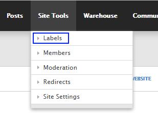 Labels link